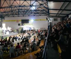 dvorana i drugu večer puna